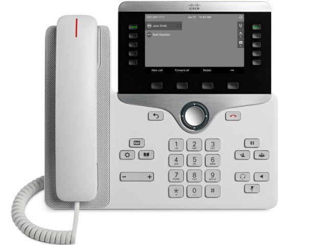 Телефон Cisco IP Phone 8861 белый, CP-8861-W-K9=
