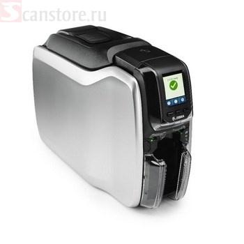 Карточный принтер Zebra ZC300, односторонний, ZC31-000W000EM00