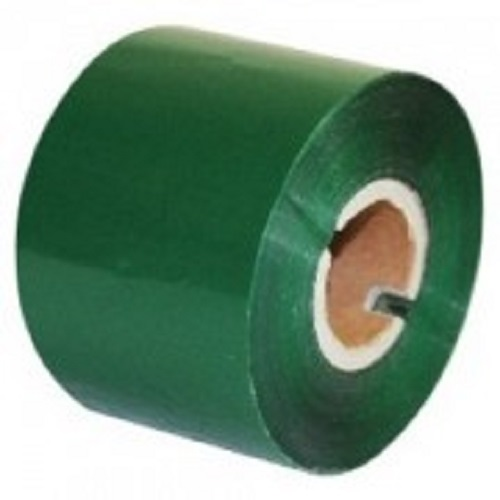 Термотрансферная лента 80 мм х 300 м, IN, Printmark W100, Wax, зеленая (green), PM080300WIGREEN