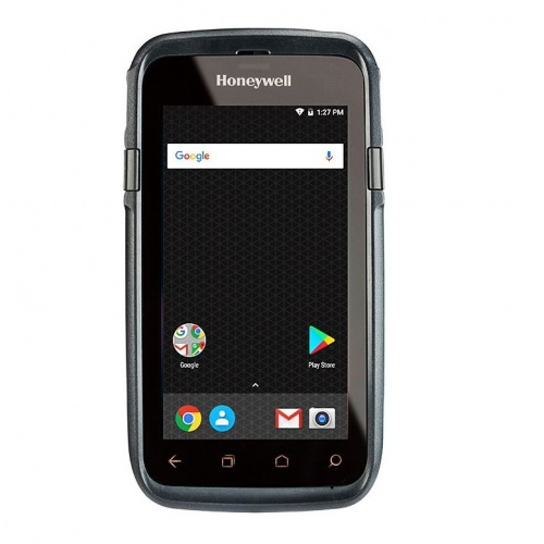 Изображение Терминал Honeywell Dolphin CT60; 2D SR(N6603), 4GB/32GB, WiFi, Bluetooth 5.0, WWAN, NFC, GPS, Android 7.1.1, 4040 мАч, камера 13MP, CT60-L1N-BSC210E от магазина СканСтор