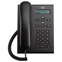 Телефон Cisco Unified SIP Phone 3905, Charcoal, Standard Handset, CP-3905=