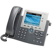 Телефон Cisco  Телефон Cisco Unified IP Phone 7945, Gig Ethernet, Color, CP-7945G=