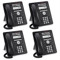Телефон Avaya IP PHONE 9608G GRAY GLOBAL 4 шт, 700510905