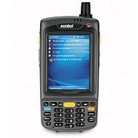 Изображение Терминал Zebra MC70; 1D, WiFi, Bluetooth, Windows Mobile 5.0, 26 клавиш, аккумулятор 3800 мАч, MC7090-PU0DJRFA8WR от магазина СканСтор